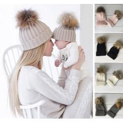Set de 2 bonnets comme maman