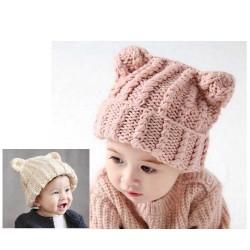 Bonnets lainage 9 mois à trois ans