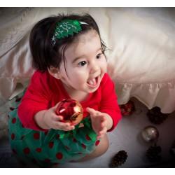 Bandeau sapin thème Noël, 3 mois à 5 ans