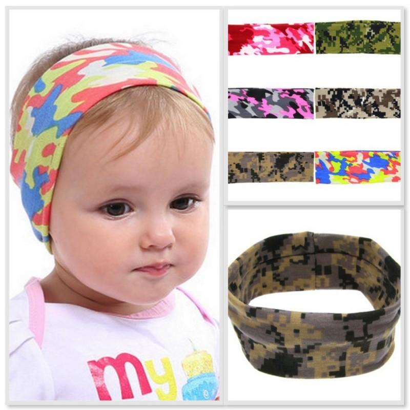 Bandeaux turban large, modèle Little Warrior