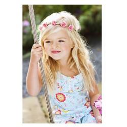 Bandeaux cheveux jolies roses modèle champêtre