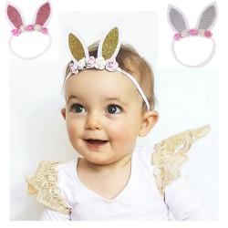 bandeaux cheveux oreilles de lapin