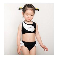 maillot de bain deux pièces filles 18 mois à 6 ans