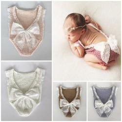 Body tricot uni pour nouveaux nés, couleur au choix