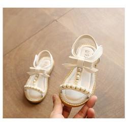 Sandalettes perles taille 21 à 25