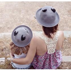 Set duo chapeau comma maman modèle Chat
