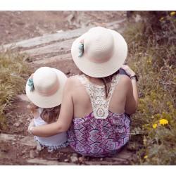 Chapeau duo modèle comme maman modèle Romance