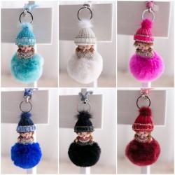 Porte clés accessoire de sac, modèle Mini Kiki bonnet