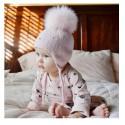 Bonnets enfant perles et pompom 2 à 5 ans