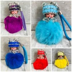 Porte clés accessoire de sac, modèle Mon Chichi Doudou 2