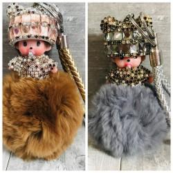 Porte clés accessoire de sac, modèle Mon Chichi Doudou 3