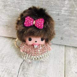 Porte clés accessoire de sac, modèle Mon Baby Chichi Girly