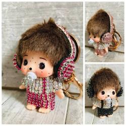 Porte clés accessoire de sac, modèle Mon Chichi Funny