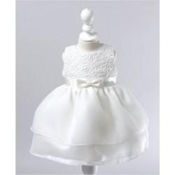 Robe de cérémonie enfant modèle Isadora 3 mois à 2 ans