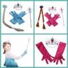 Lot accessoires Reine des Neiges - Anna ou Elsa au choix