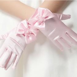 gant satin enfant pour cérémonie