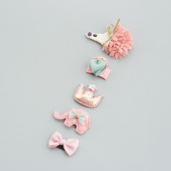 Barrettes magique lot Animal Girly