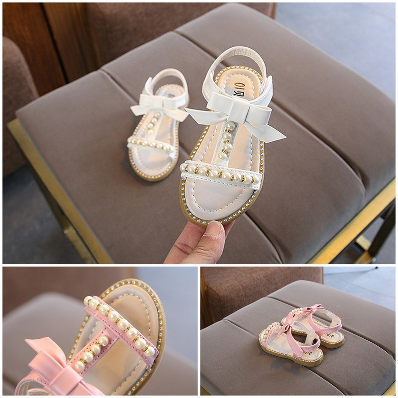 sandalette perlée