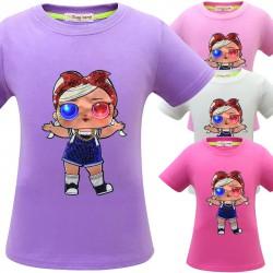 t shirt petite poupée à led
