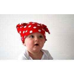 Bonnet en coton, modèle lutin 0-6 ans