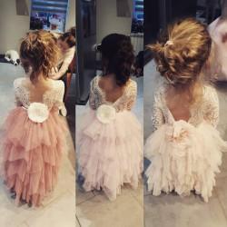 Robe longue Sophie, robe cérémonie enfants