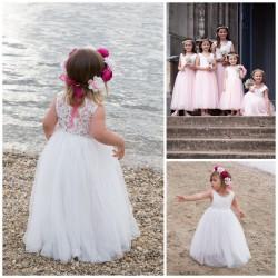 Carla robe cérémonie fille 6 mois à 12 ans
