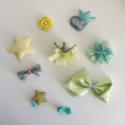 Lot de 10 barrettes...