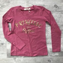 T-shirt ML Rose blush...