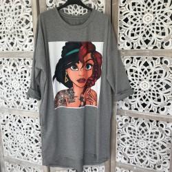 Jasmine robe loose jusqu'à un 46 grise