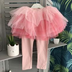Legging jupe bouffante rose...