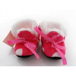 Chaussure souple coeur, boots bébé 0/9mois
