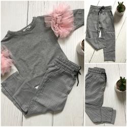 pantalon pied de poule enfant