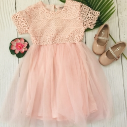 robe cérémonie fille modèle rosie 4 à 16 ans