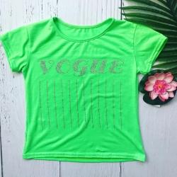 T-shirt vogue vert fluo, de...