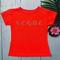 T-shirt orange fluo, de 4...