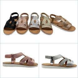 Sandales torsade 25 à 30