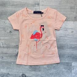 T-shirt flamand rose, 2 à...