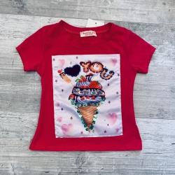 T-shirt glace fuchsia, 2 à...