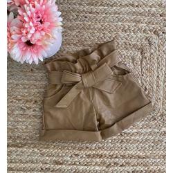 Short paper bag simili cuir...