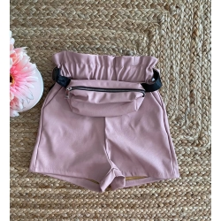 Short sacoche simili cuir...