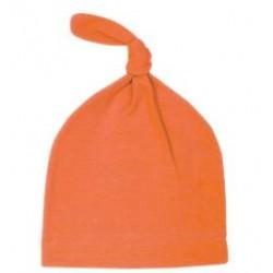 orange-Bonnet en coton, modèle lutin 0-2 ans