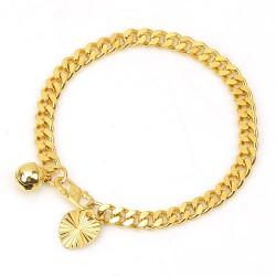 Bracelet bébé plaqué or jaune 18 carats idéal