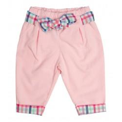 Pantalon carotte avec ceinture thème MARIE-GALANTE