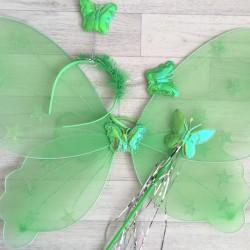 Fée Papillon étoile, modèle vert