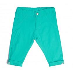 Pantalon chino vert piscine, thème POOL PARTY