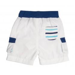 """Bermuda poches côtés """"Tombeur"""", thème LES FLOTS BLEUS"""