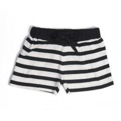 Short rayé noir et blanc, thème Chic en noir et blanc