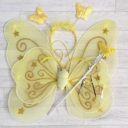 Fée Papillon étoile, modèle jaune