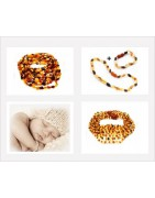 Bijoux en ambre pour bébé et enfant