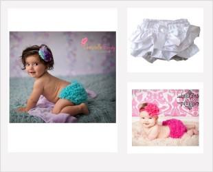 Culotte de bébé, bloomer, cache-couche